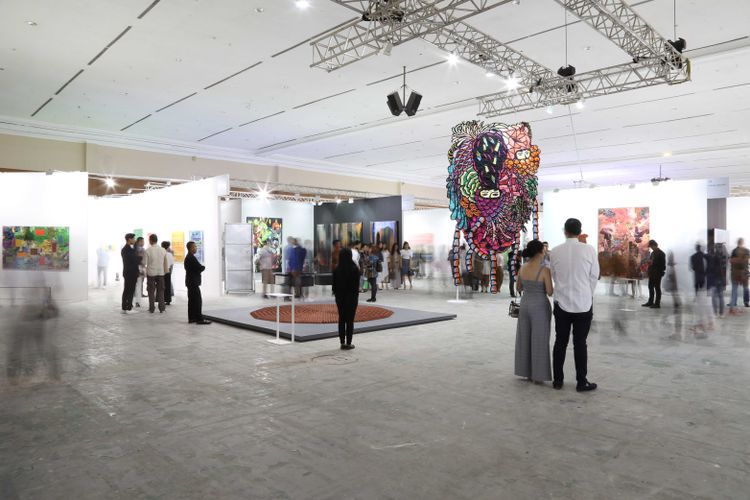 East Asian unrest plays in Art Jakarta's favour