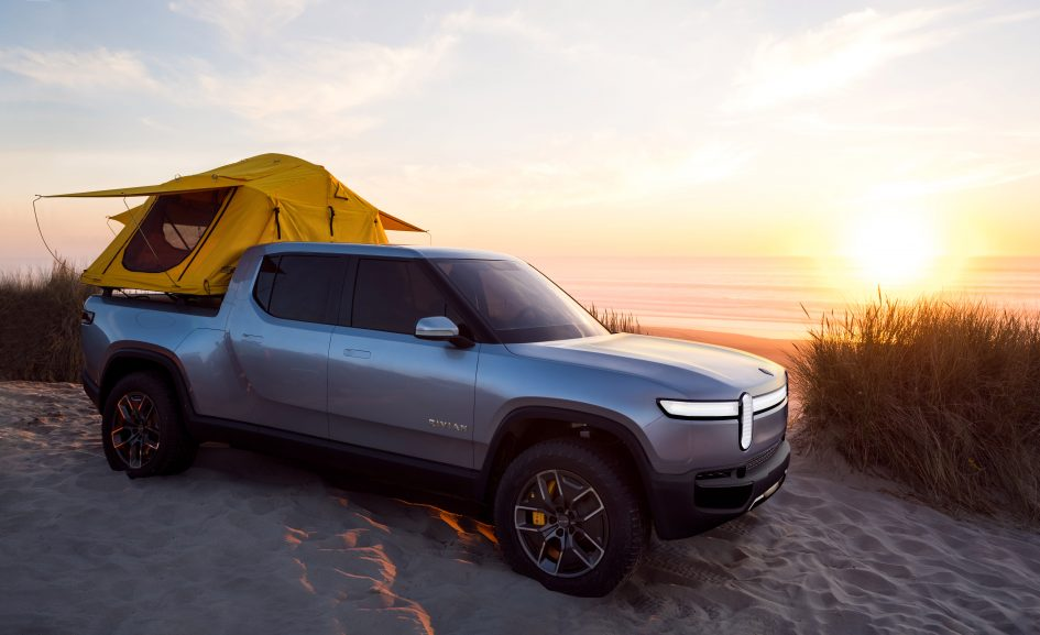 Electric truck maker Rivian lands $350 million investment from Cox Automotive