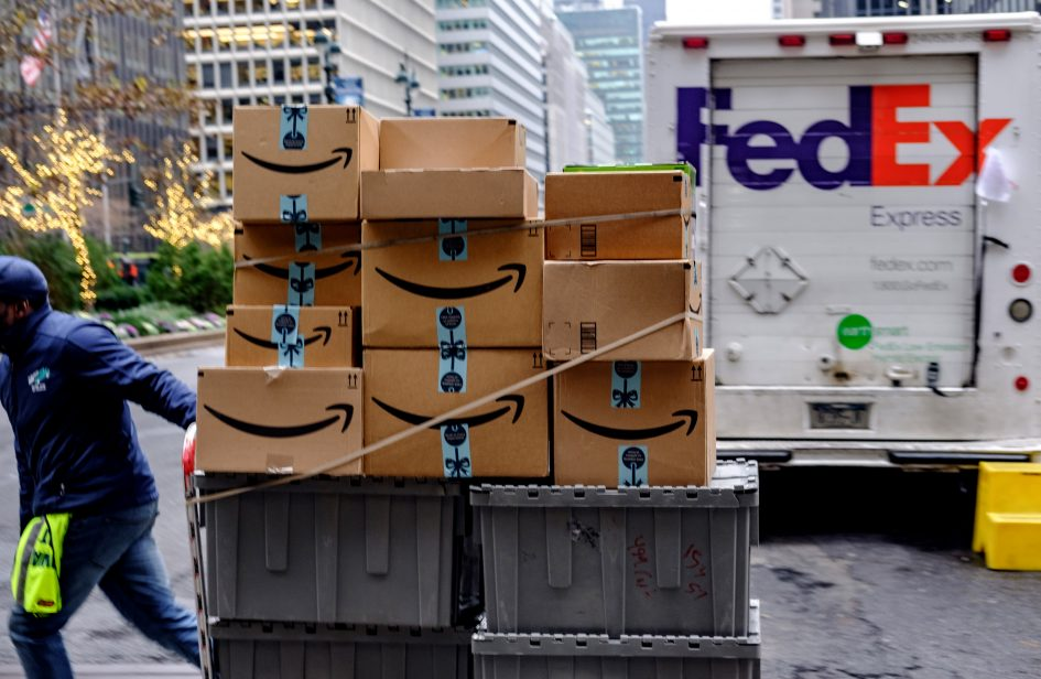 FedEx, UPS jockey with Amazon as tech giant expands into shipping