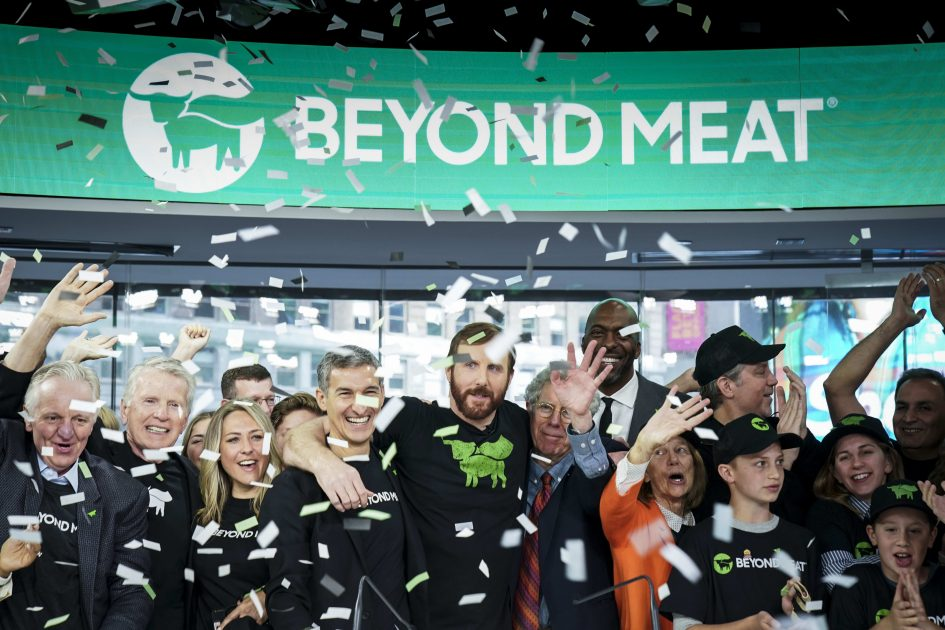 How the alternative meat company surged 500 percent