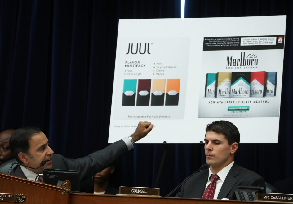 Juul accused of illegally advertising vaping as a way to quit smoking