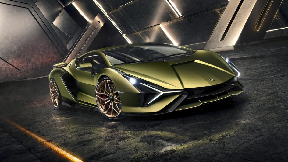 Lamborghini reveals its first hybrid supercar: The Sian