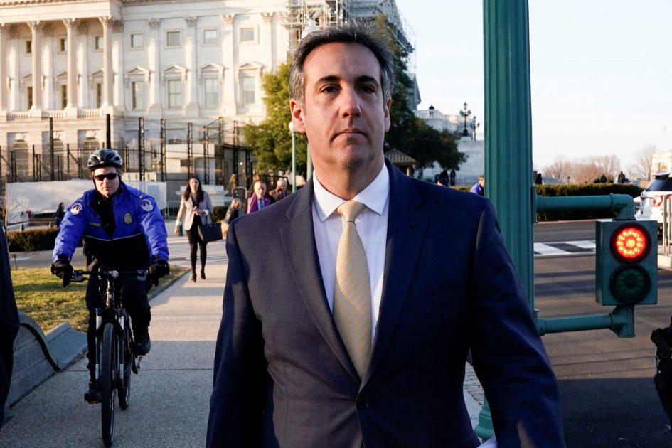 Michael Cohen cooperating in probe into whether Trump Organization falsified records