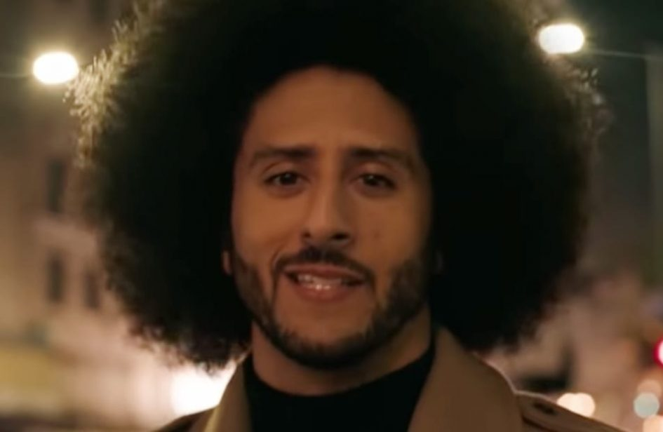 Nike wins Emmy for ad featuring Colin Kaepernick