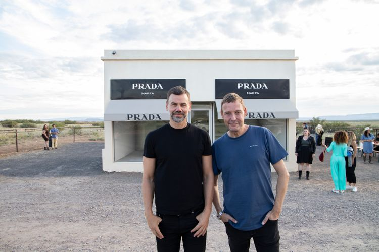 On the Road to Marfa with Elmgreen and Dragset