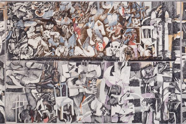 Tate's huge 'Guernica of the Arab world' is recreated in tapestry so it can travel the world