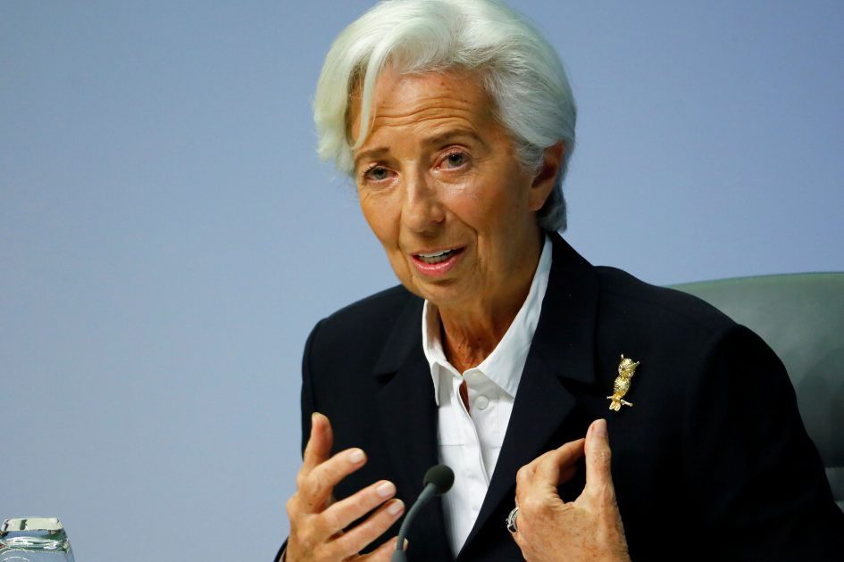 ECB's Lagarde says we've probably passed the lowest point of crisis