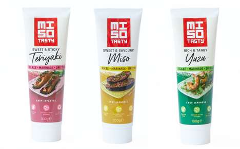 Prepackaged Japanese Cooking Sauces : Japanese cooking sauces