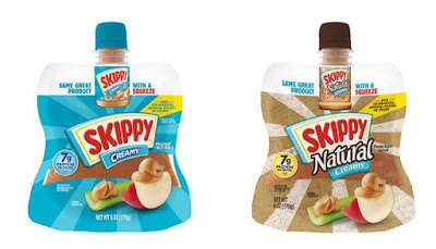 Squeezable Peanut Butter Pouches : Skippy Squeeze