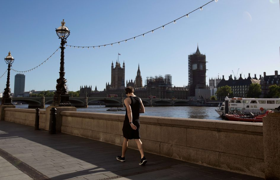 UK GDP posts steepest on-month fall in April