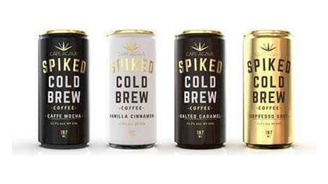 Wine-Infused Canned Coffees : Spiked Cold Brew