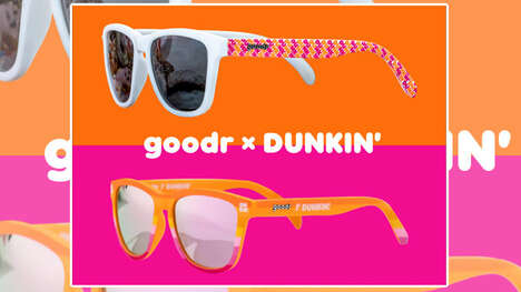 Cafe-Branded Sunglasses : goodr x Dunkin' sunglasses