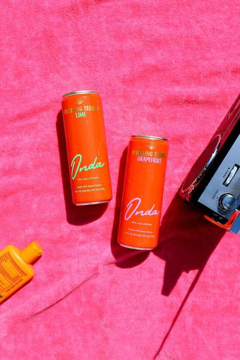 Canned Sparkling Tequilas : Sparkling Tequila