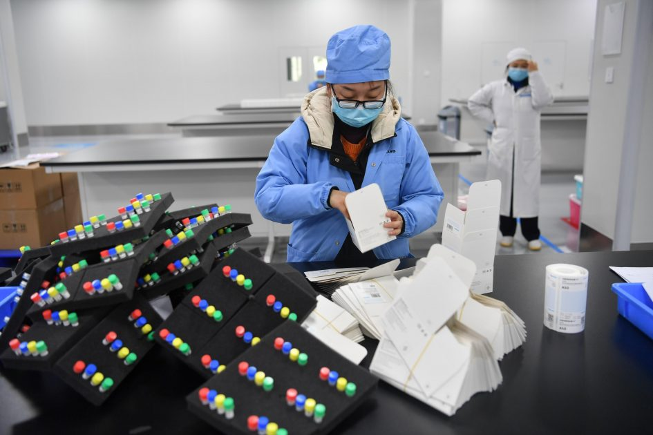 Demand for China's medical products surge