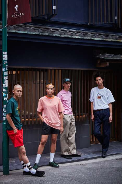 Heritage-Accenting Streetwear Shops : noah store