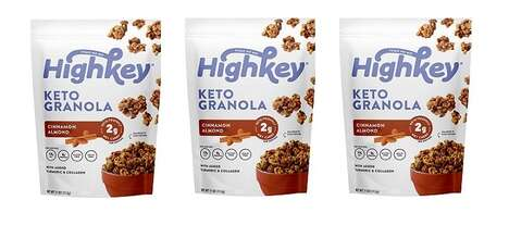 Satisfying Low-Carb Granolas : Keto Granola