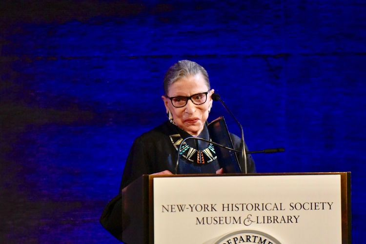 Ruth Bader Ginsburg to be memorialised with statue in Brooklyn