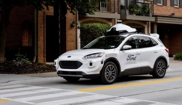 Ford unveils new self-driving test vehicle for 2022 launch