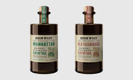 High West Barrel Finished Cocktails