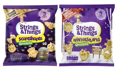 Playful Holiday Cheese Snacks : Strings & Things