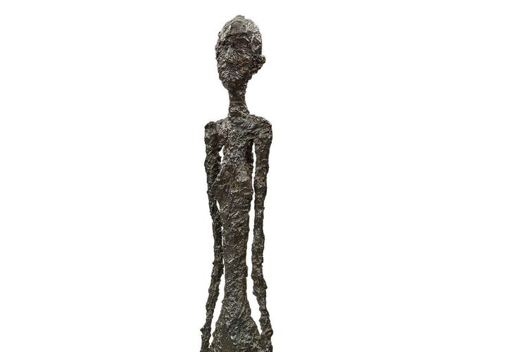 Sotheby's to offer monumental Giacometti bronze in rare 'sealed bid' sale with a minimum bid of $90m