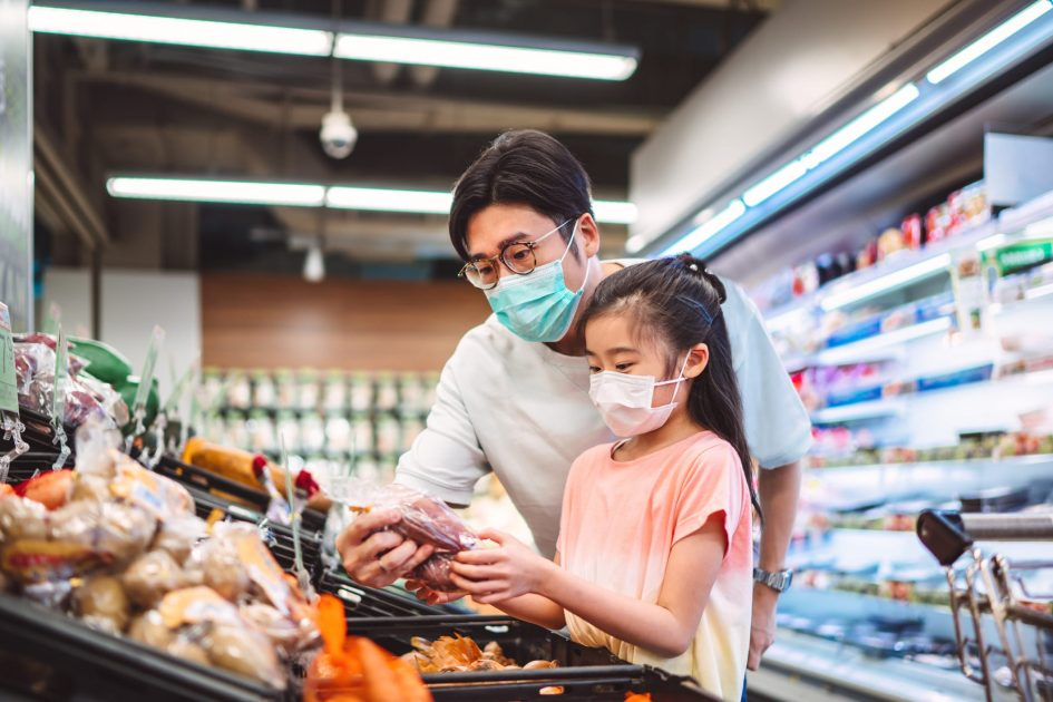 A Covid vaccine could mean a slowdown in growth for grocers that benefitted from shuttered restaurants, report says