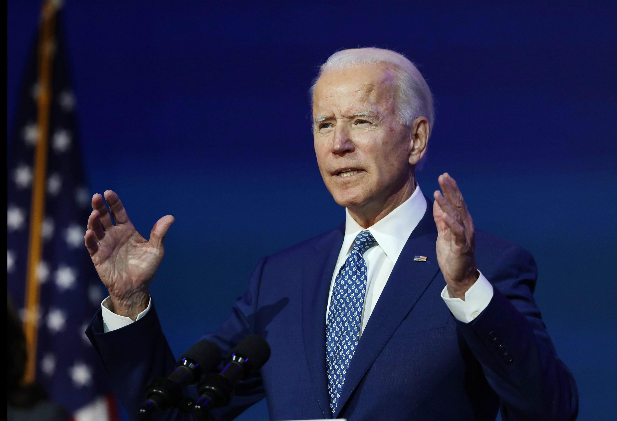 Biden puts health care front and center with a call to expand Obamacare