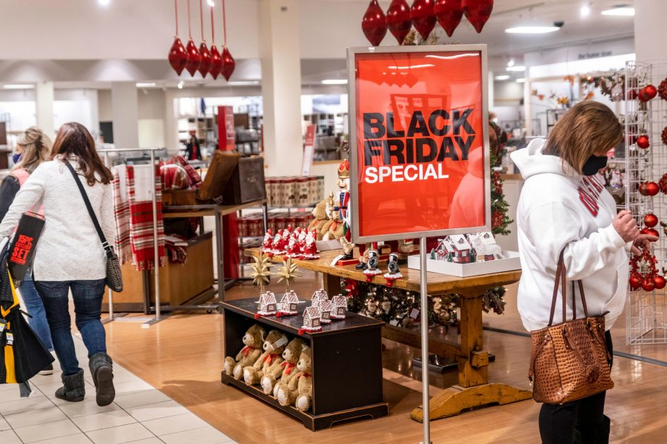 Black Friday shopping in stores craters 52% during pandemic as e-commerce sales surge