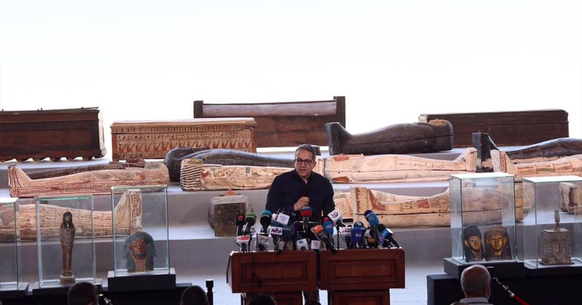 Egyptian archaeologists make the 'biggest discovery of 2020'