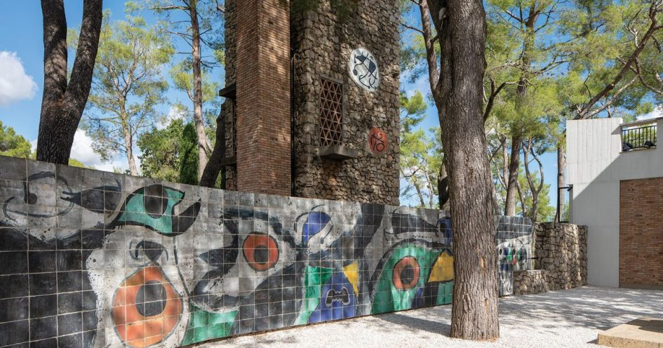 Miró Labyrinth meanders towards restoration at south of France's Maeght Foundation