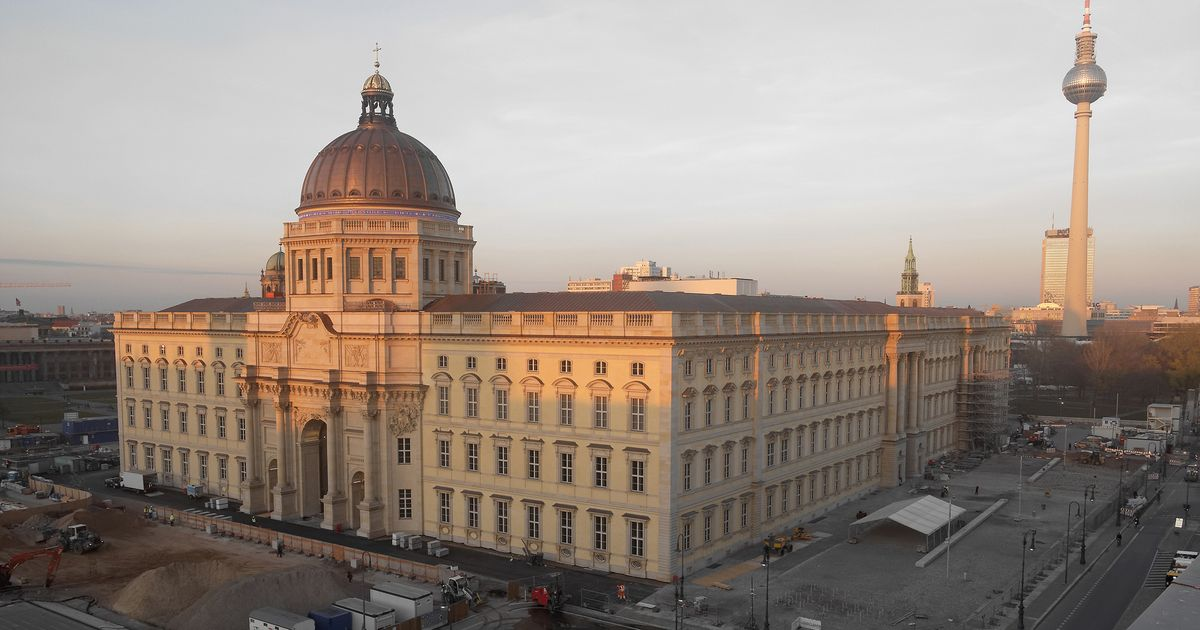Opening of Humboldt Forum delayed again as coronavirus lockdown extended—but you can view it online