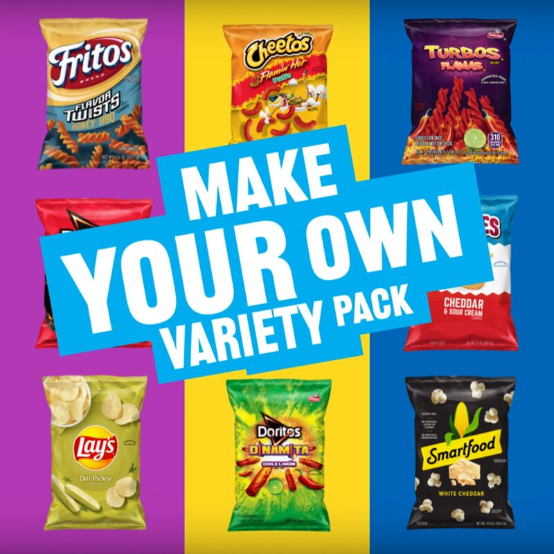 Mix-and-Match Snack Packs