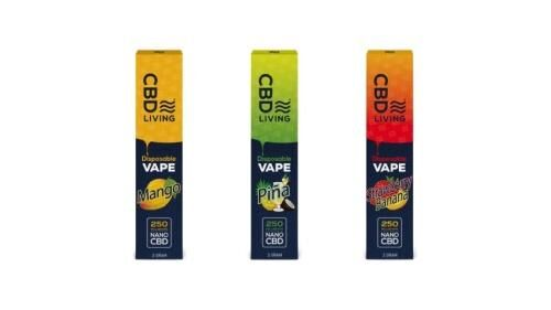Tropically Flavored CBD Vapes