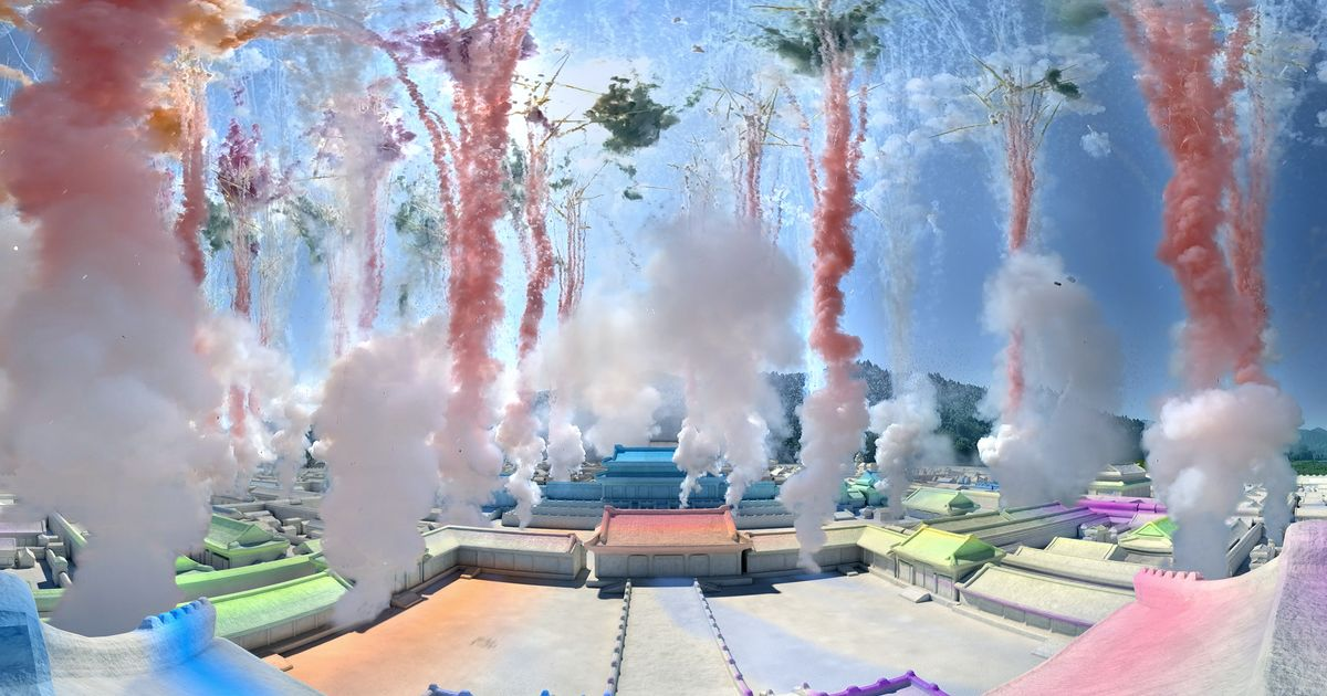 Cai Guo-Qiang returns to China with a (virtual) bang in major new show at Beijing's Forbidden City Palace Museum
