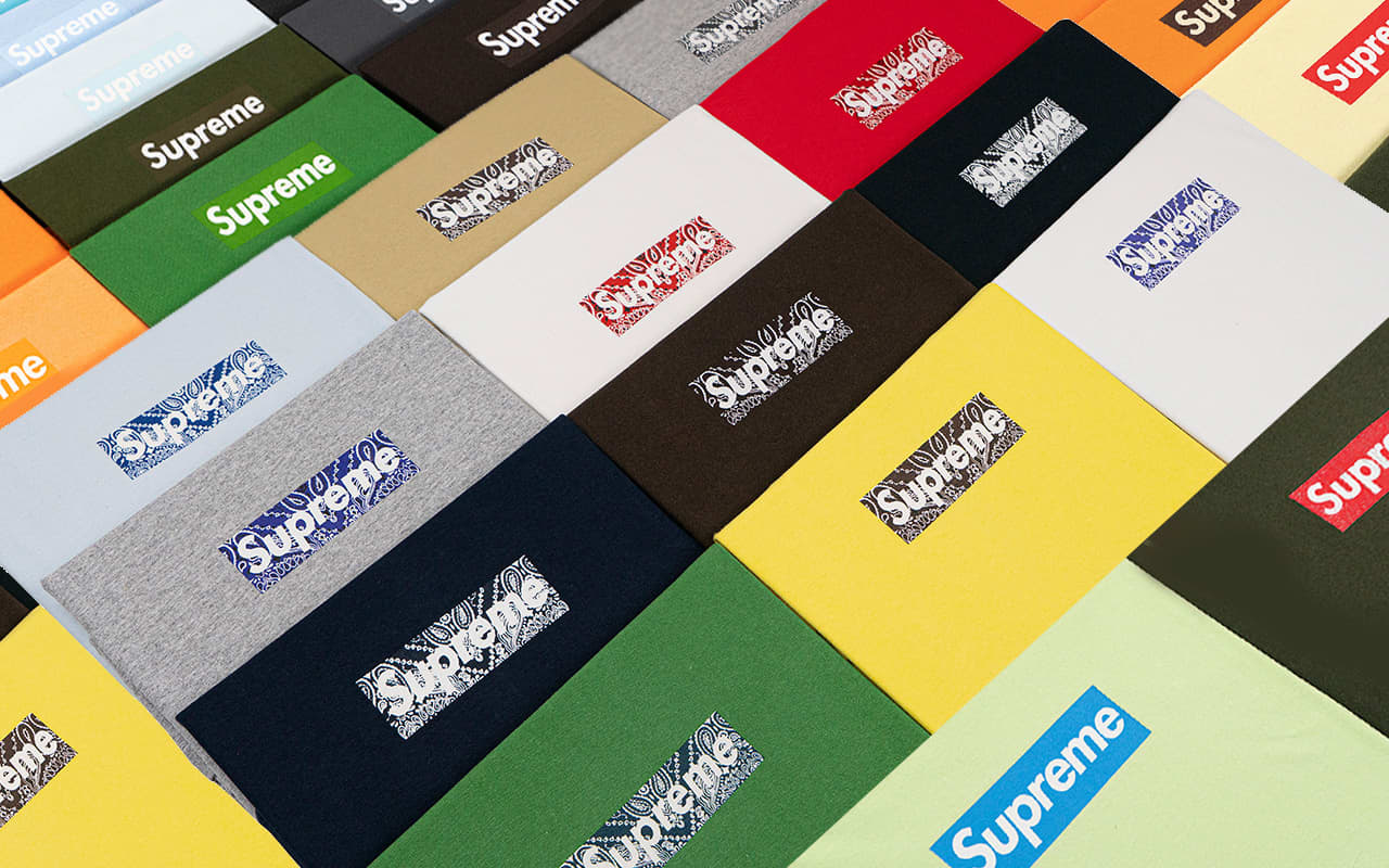 Christie's is selling a collection of Supreme 'box-logo' T-shirts for about $2 million