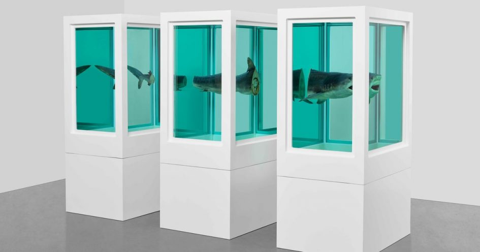 Damien Hirst in his own words—artist presents walk-through tour of his early works on Instagram