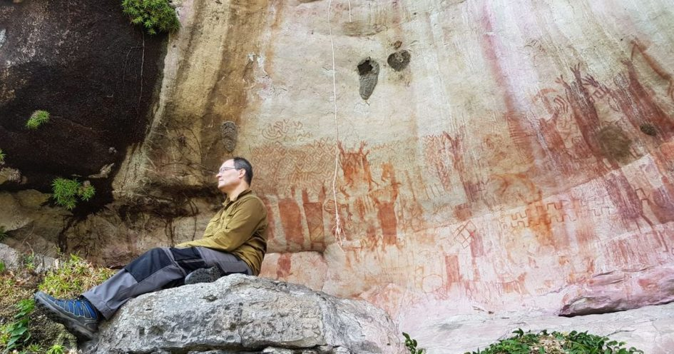 Eight miles of Ice Age rock art uncovered in Colombian Amazon