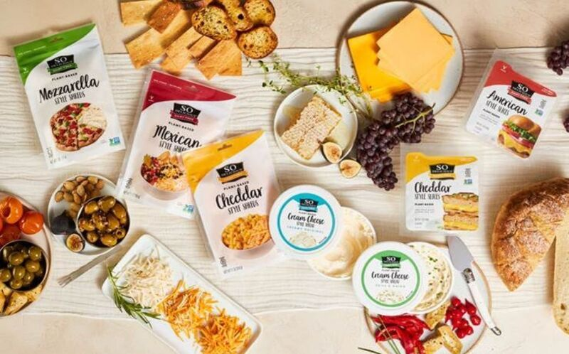 Expansive Plant-Based Cheese Ranges