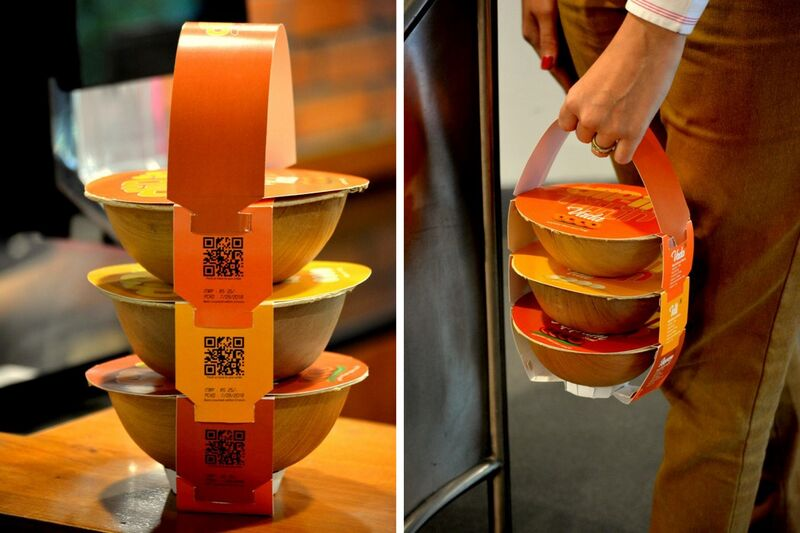 Traditional Lunchbox Takeout Packaging