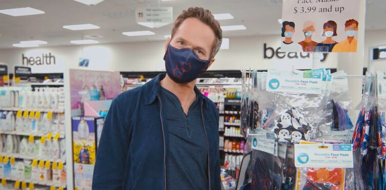Celebrity-Staring Contactless Shopping Ads