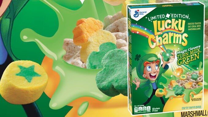 Color-Changing Breakfast Cereals