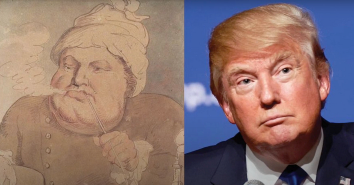 Video   In pictures: Donald Trump's presidency as the art world saw it