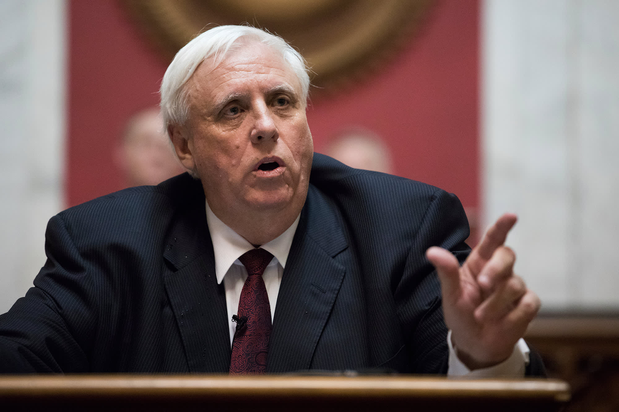 West Virginia governor claims if his state had enough doses by Valentine's Day, 'every person over 65 would be vaccinated'