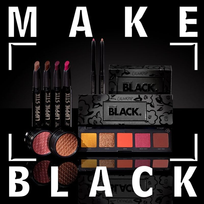 All-Black Beauty Packaging