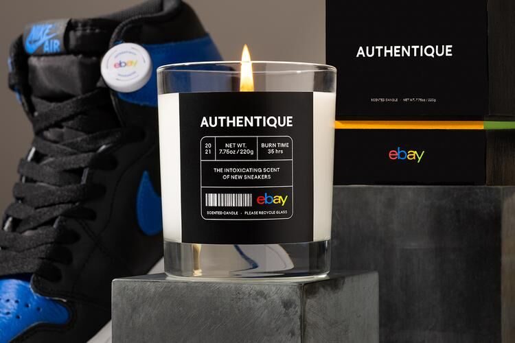 New Sneaker Candle Scents