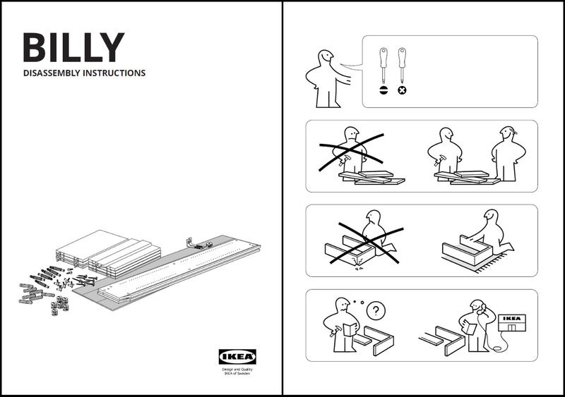 Furniture Disassembly Manuals