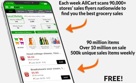 Deal-Detecting Grocery Apps
