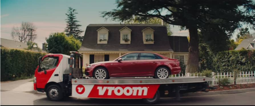 Online car seller Vroom promises torture-free car buying in first Super Bowl ad