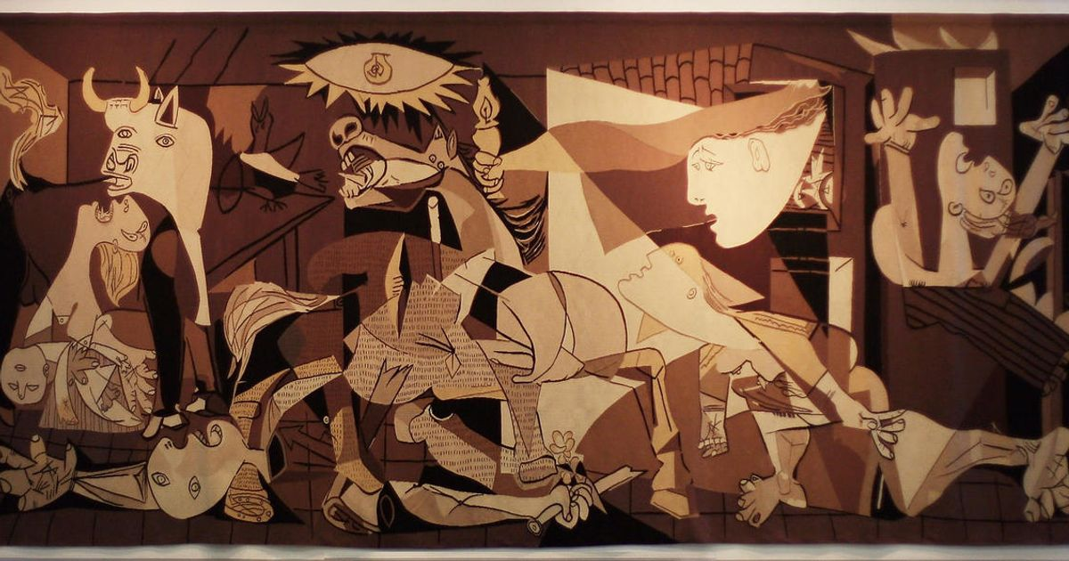 Tapestry replica of Picasso's anti-war masterpiece Guernica removed from United Nations headquarters after 35 years