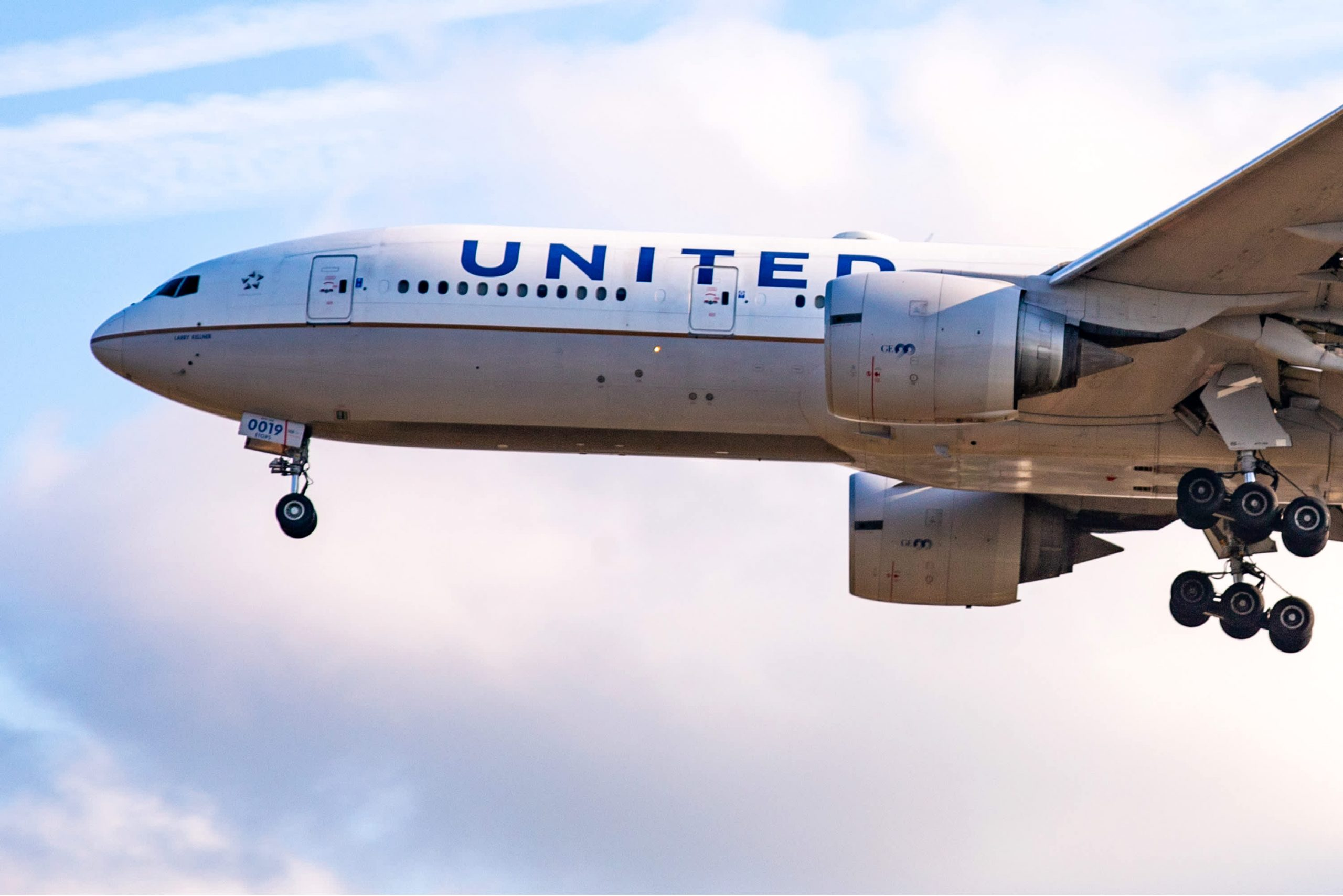 United Boeing 777 suffers engine failure after takeoff from Denver, debris found but no injuries